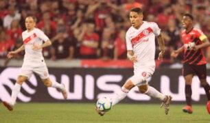 Primera final Copa Brasil: Inter de Paolo Guerrero perdió 1-0 ante Atlético Paranaense