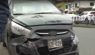 Chorrillos: imprudencia de un conductor podría costarle la vida a mujer atropellada