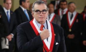 Olaechea no considera oportuno cambiar la Constitución durante gobierno de Vizcarra