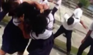 Iquitos: escolares fueron grabadas peleando dentro de colegio