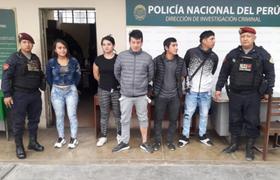 PNP desarticula banda de cogoteros 'Los Fríos de Los Olivos'