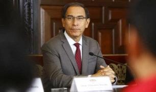 Presidente Vizcarra se ausentará del país desde el 24 al 26 de septiembre