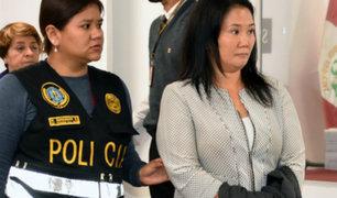 Reducen a 18 meses prisión preventiva contra Keiko Fujimori