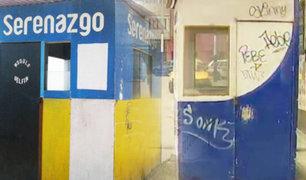 VMT: módulos construidos por municipio fueron vandalizados y son guarida de fumones