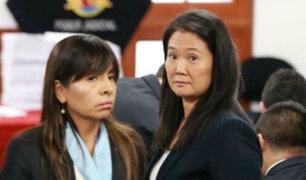 """Abogada de Keiko Fujimori: """"Vinimos a reclamar justicia y no la hemos encontrado"""""""