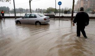 España: inundaciones azotan Valencia y dejan dos fallecidos