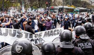 Argentina: se registran manifestaciones en reclamo de emergencia alimentaria