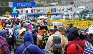 Ecuador: venezolanos en tránsito a otro país podrán ingresar con permiso especial