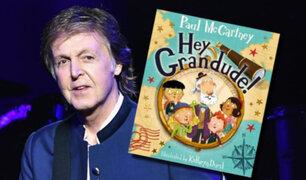 """Paul McCartney: exBeatle cuenta su faceta de abuelo en el libro """"Hey Grandude"""""""