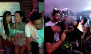 Selección de México: fiesta con mujeres antes de la goleada ante Argentina