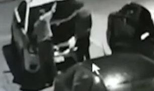 Magdalena: roban autopartes de taxi en segundos