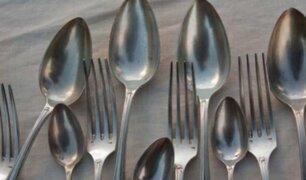 Egipto: hallan 20 cucharas y cuatro tenedores en estómago de joven