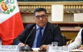 Congresista Mantilla es elegido presidente de la Subcomisión de Acusaciones Constitucionales