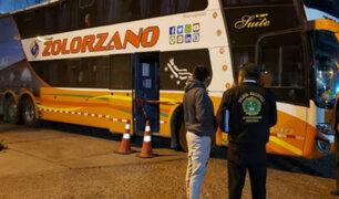 Pasajero de bus murió de un infarto durante trayecto a Arequipa