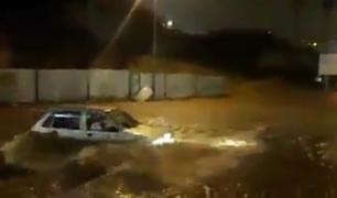 Argelia: inundaciones dejan a un menor fallecido