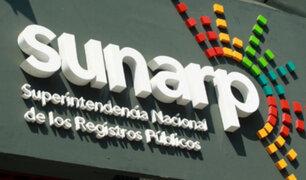 Sunarp: uso de la tecnología incrementó en 6,1% las inscripciones de títulos