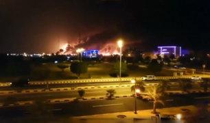 Atacan con drones dos instalaciones petroleras de Arabia Saudita