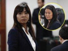 """Esperamos que Keiko Fujimori se estabilice"" dijo abogada Giulliana Loza"
