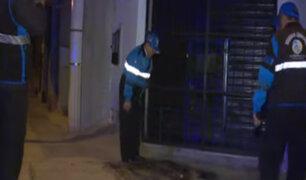 Lanzan bomba molotov a vivienda en San Martín de Porres