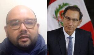 """Columbus sobre Vizcarra: """"La ciudadanía espera una gestión que no se ve"""""""