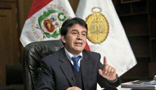 PJ evaluará nuevamente pedido de impedimento de salida contra fiscal Tomás Gálvez