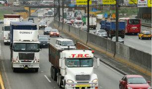 Panamericana Sur: conductores de carga pesada solicitan carril segregado