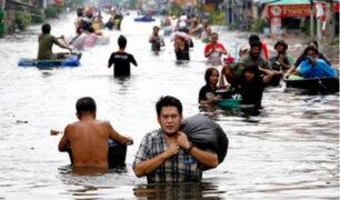 Inundaciones dejan 33 personas fallecidas en Tailandia
