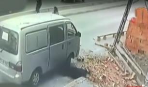 Turquía: mujer fue golpeada por derrumbe de ladrillos