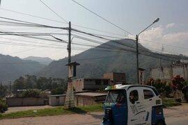 Tras intenso trabajo logran sofocar incendio forestal en Chanchamayo