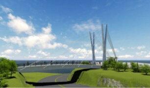 Puente de la Amistad entre San Isidro y Miraflores próximo a ser inaugurado