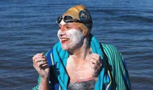 Inglaterra: sobreviviente del cáncer cruza cuatro veces canal de la Mancha