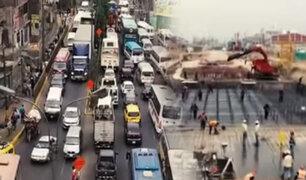 Tráfico en Carretera Central colapsará por obras de Metro de Lima