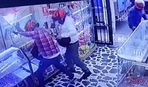 Cercado de Lima: sospechan que asaltantes de joyería serían extranjeros