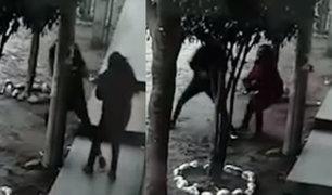 VES: mujer fue golpeada por resistirse a que le roben