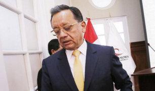Caso Chinchero: excontralor Edgar Alarcón se presenta ante comisión del Congreso