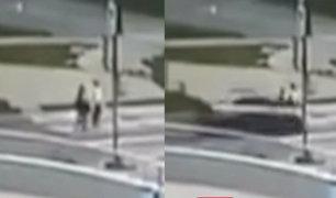 Rusia: estudiantes fallecen tras ser embestidas por auto a excesiva velocidad