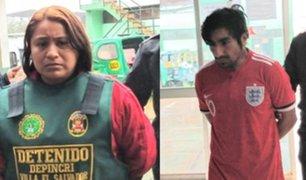 Villa El Salvador: capturan a pareja que asesinó a su vecino para quitarle S/8 000