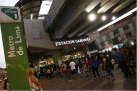Metro de Lima: revendedores siguen en los exteriores de algunas estaciones
