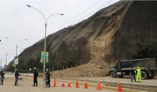 Costa Verde: nuevo deslizamiento generó alarma en Magdalena