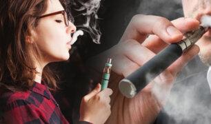 Ministerio de Salud prohibiría uso de cigarrillos electrónicos con saborizantes