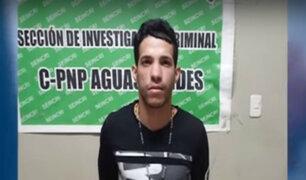 Crimen en SMP: detenido señala quienes serían los asesinos de Matamoros y Torrico
