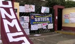 Universidad San Marcos: habría presencia del Movadef en toma de local
