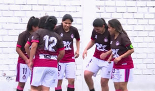 Fútbol femenino: así fue la gran final del campeonato en Pueblo Libre