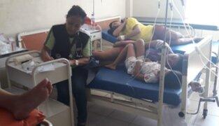 Lambayeque: intoxicación masiva deja al menos 80 afectados en Chongoyape