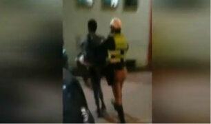 Huaral: venezolano recibió escarmiento tras intentar robar a compatriota