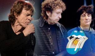 Los Rolling Stones lanzarán material inédito junto a Bob Dylan