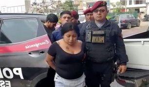 Ate: detienen a delincuentes que asaltaban a escolares