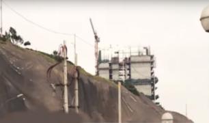 Costa Verde: continúan construyendo edificios al borde de acantilado