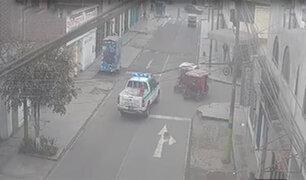 Santa Anita: mototaxista ayuda a serenos en captura de ladrón