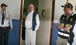 Suspenden interrogatorio a Pedro Pablo Kuczysnki luego de tres horas de diligencias